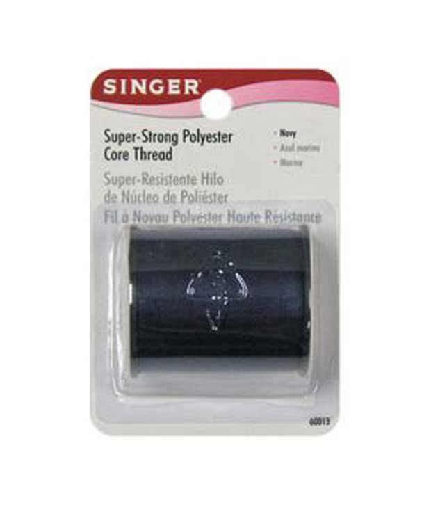 Singer All Purpose Polyester Thread 150 yards-Navy