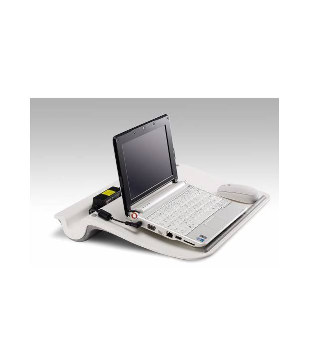 f175a12b9df ... Cooler Master Comforter - Laptop Lap Desk with Pillow Cushion - White  (C-HS02 ...
