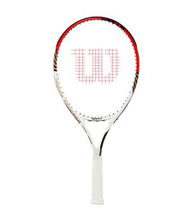 Wilson Federer Pro Tennis Racquet (Head Size 105): Buy ... Lubicic Racquet Headsize