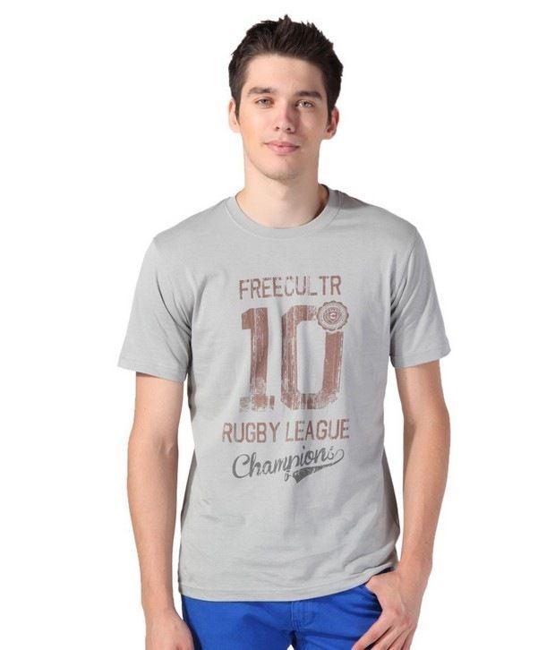 FREECULTR Grey T-Shirt