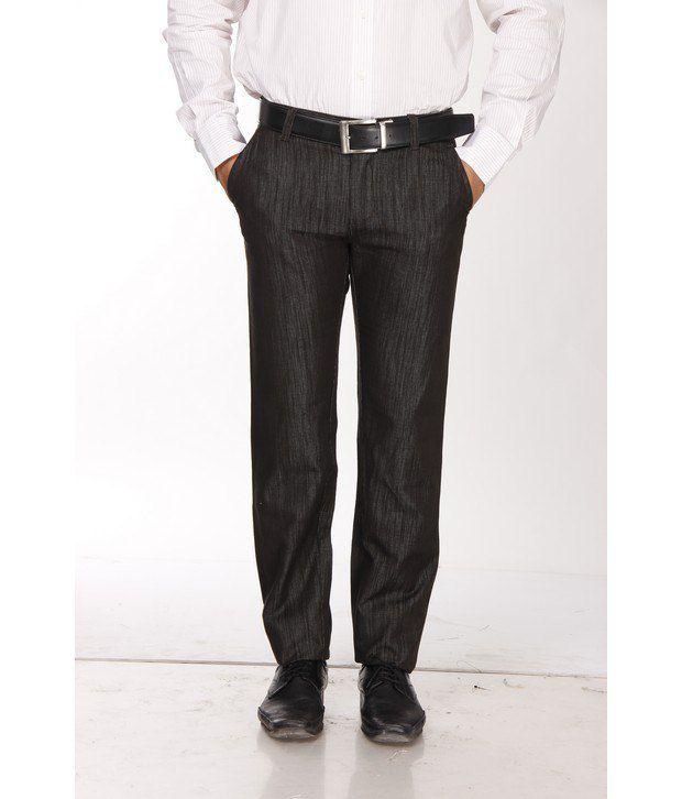 British Terminal Dark Green Cotton Basic Trousers