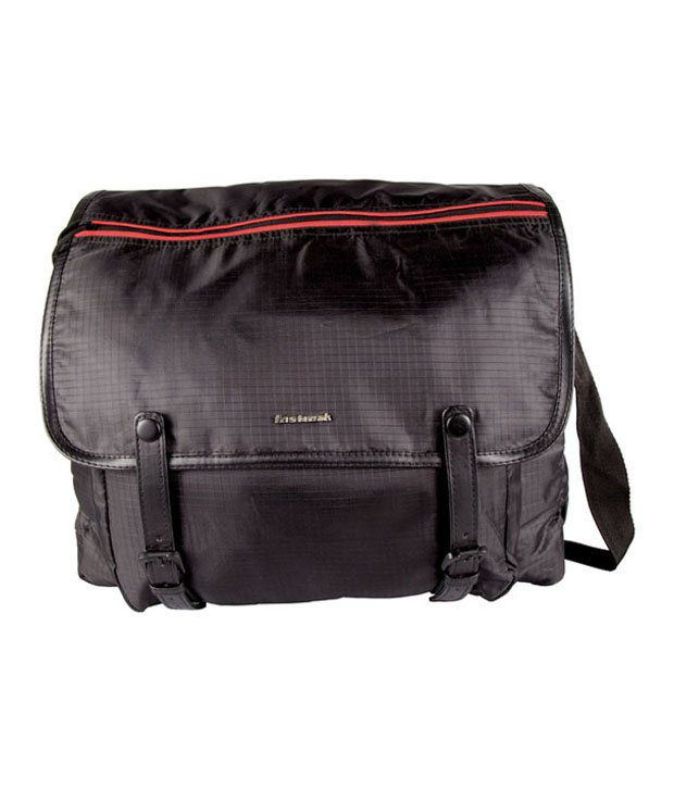 Fastrack Black Sling Bag - A0321NBK01AM