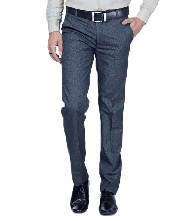 Harvest Dark Blue Formal Trousers