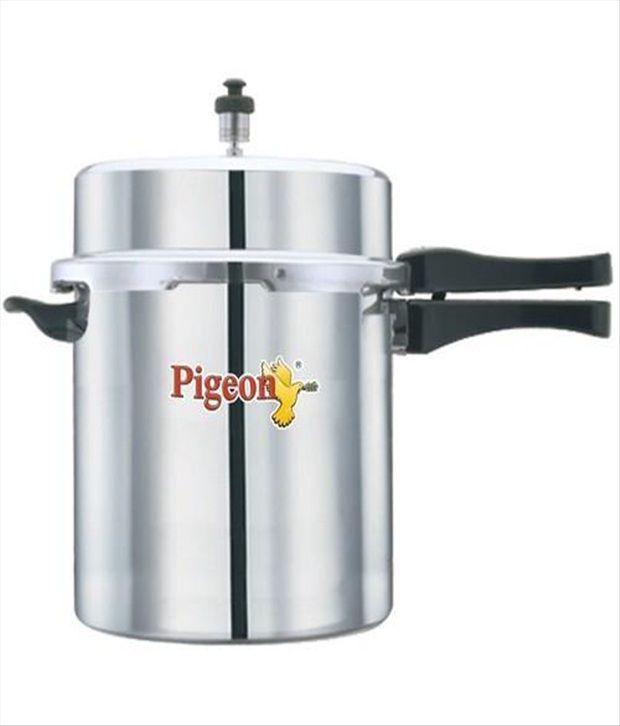 Pigeon Aluminium 10 L Pressure Cooker