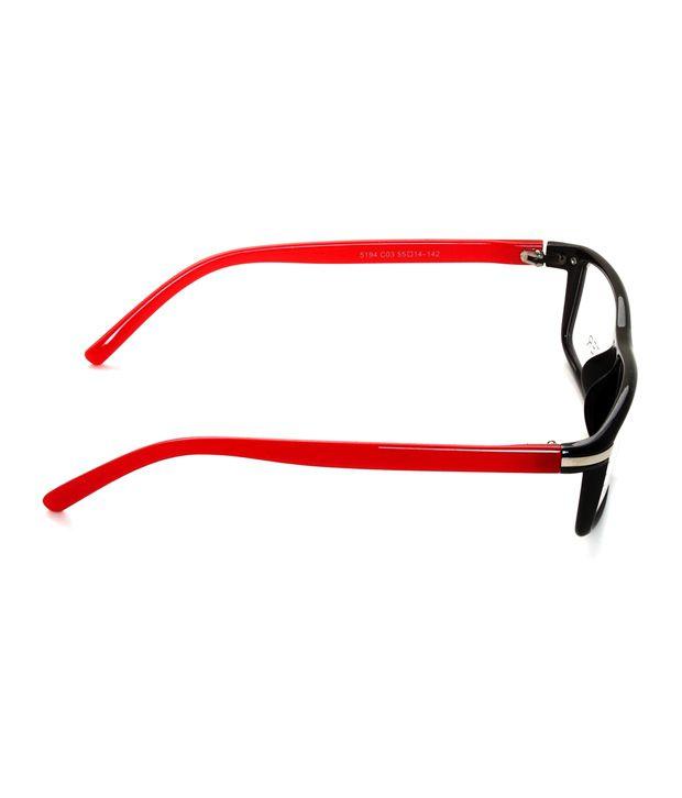 7ae480d938b3 Eyeline EO-Big-Boss-black-red Optical Frame - Buy Eyeline EO-Big ...