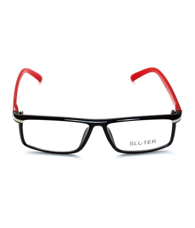 fb32891b9085 Eyeline EO-Big-Boss-black-red Optical Frame - Buy Eyeline EO-Big-Boss-black-red  Optical Frame Online at Low Price - Snapdeal
