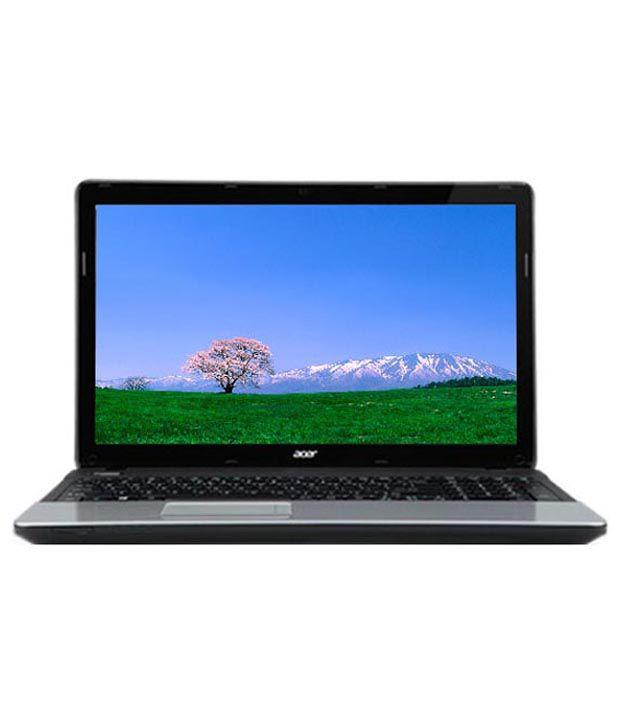 Acer Aspire E1-571G Laptop (NX.M0DSI.012) (Intel Core i3 2328M- 4GB RAM- 500GB HDD- 15.6 Inches- Linux- 1GB Graph) (Glossy Black)