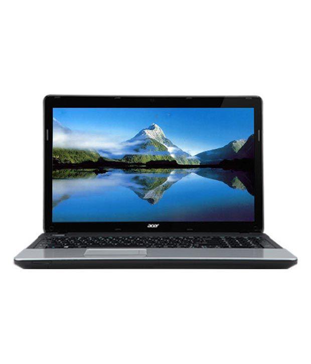 Acer Aspire E1-571-NX.M09SI.046 Laptop (Intel Core i3 3110M- 4GB RAM- 500GB HDD- 39.62cm (15.6)- Win8) (Glossy Black)