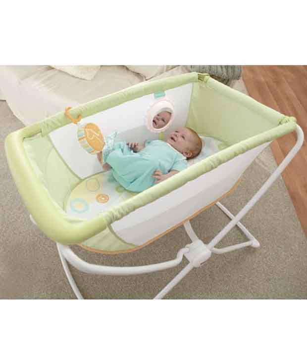 Fisher-Price Home & Away Portable Bassinet
