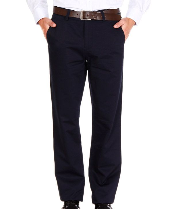 Jogur Navy Blue Trouser