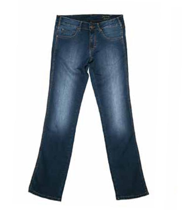 Wrangler Cool Marble Blue Jeans