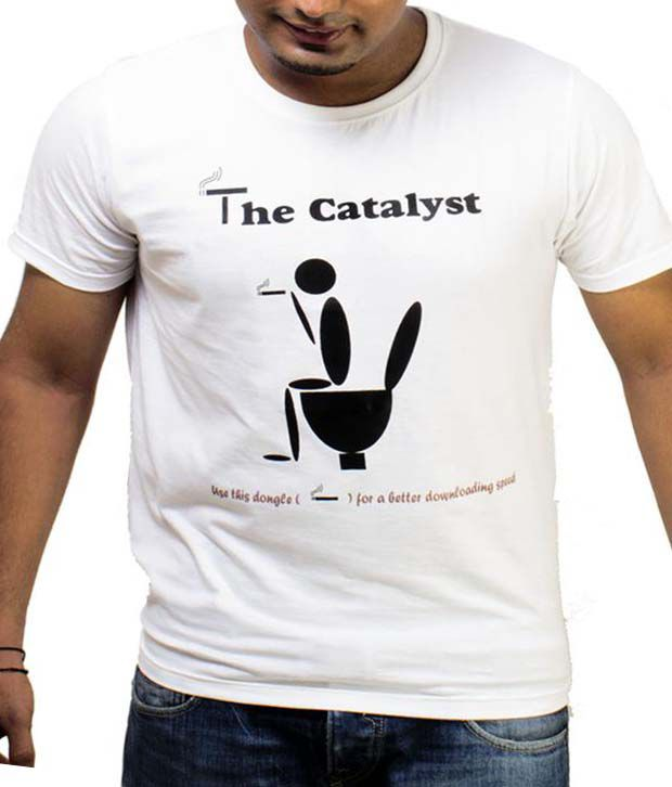 Sahibanda White The Catalyst T-Shirt