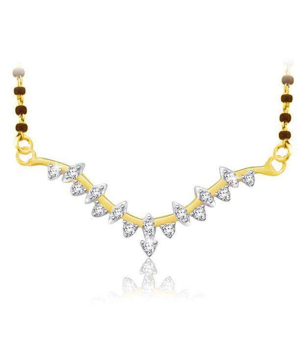 Sparkles 0.12ct. Diamond & 18kt Gold Twinkling Mangalsutra