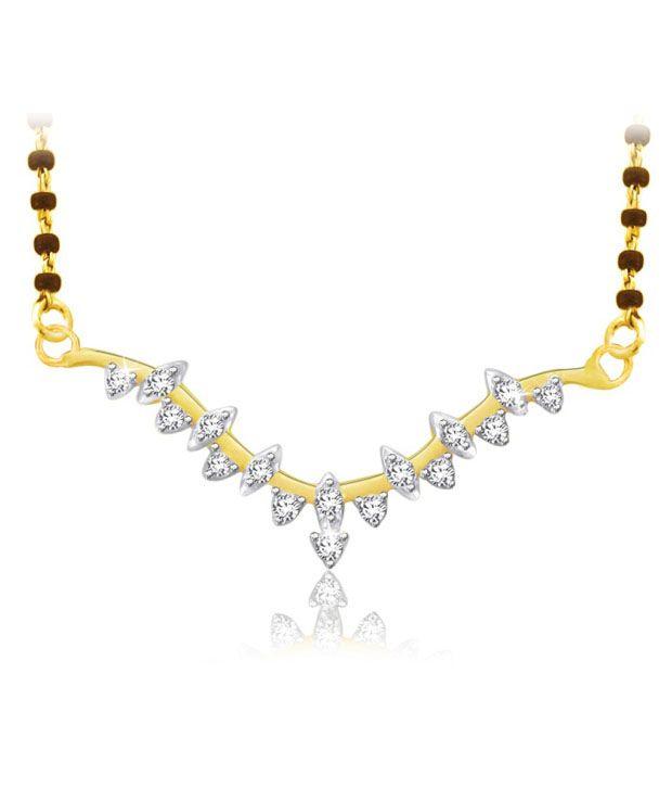 Sparkles 0.15ct. Diamond & 18kt Gold Twinkling Mangalsutra