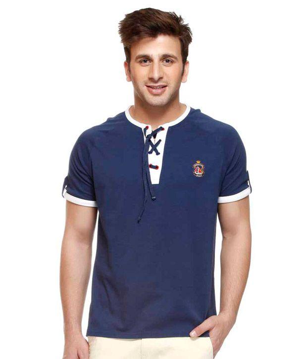 American Swan Navy Blue T Shirt