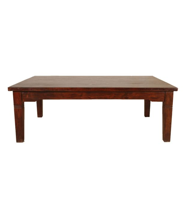 Sheesham Wood Low Height Dining Table