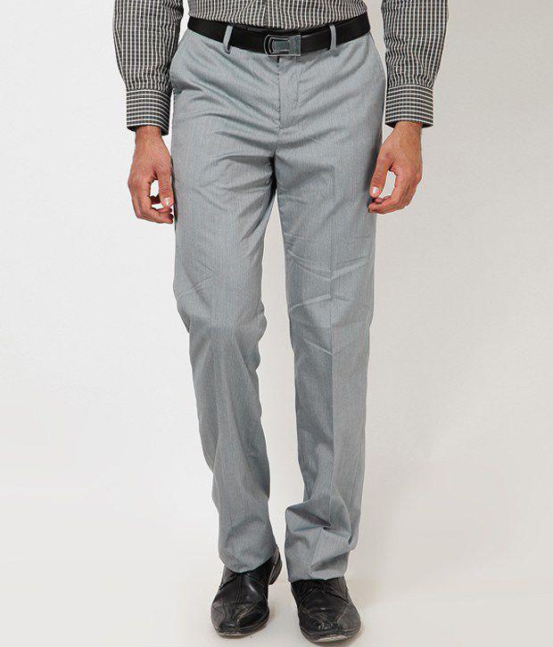 London Bridge Grey Formal Trouser