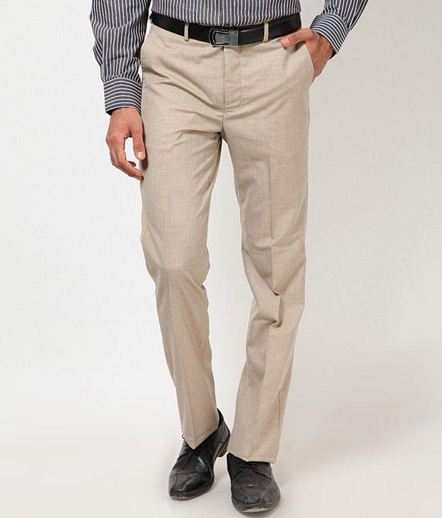 London Bridge Classic Light Brown Trouser
