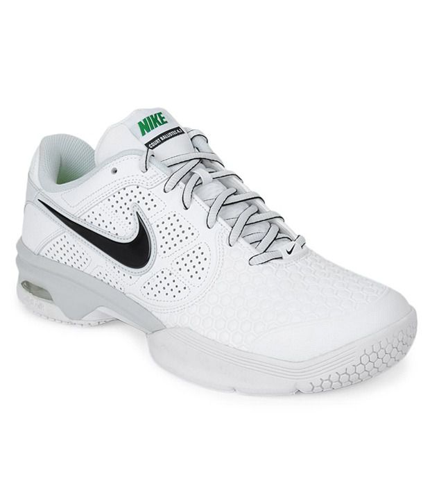 Nike Air Court Ballistec 4.1 White Tennis Shoes Buy Nike