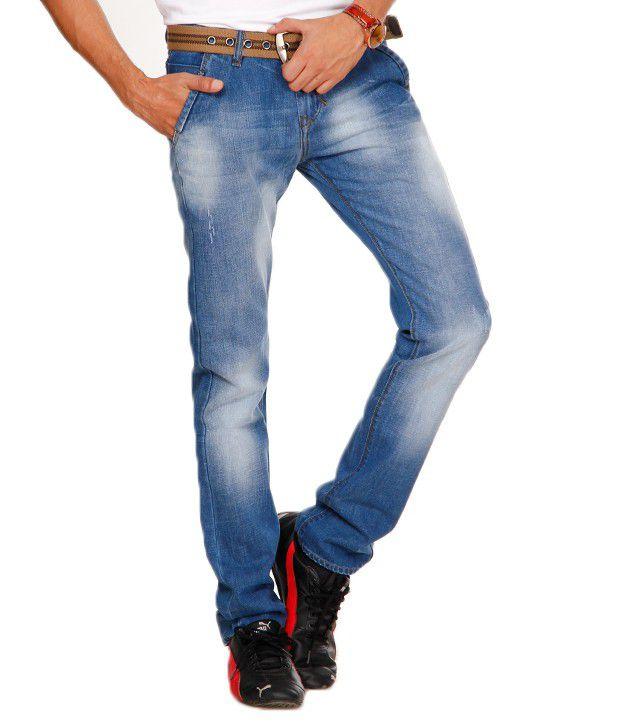 Design Roadies Light Blue Faded Jeans