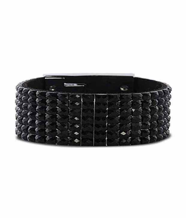 Chique Style Diva Alloy CZ Charm Bracelet