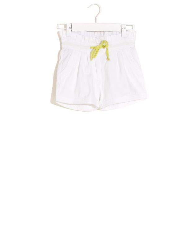 ELLE KIDS Pleated Cotton Shorts For Kids
