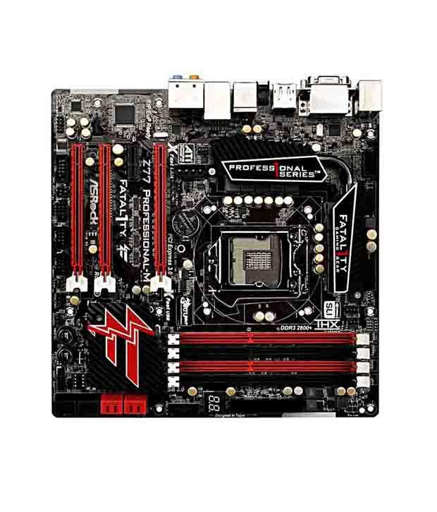 ASRock Fatal1ty Z77 Professional-M Motherboard - Buy ASRock Fatal1ty
