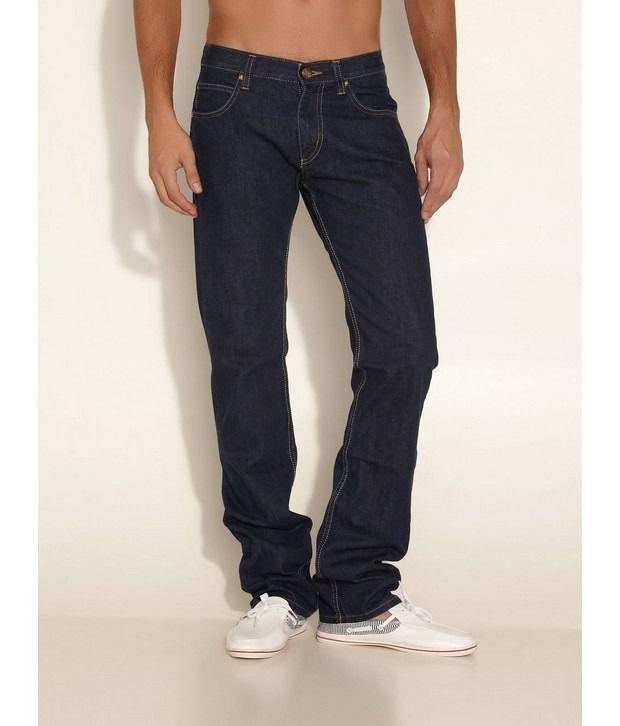 Lee Cooper Originals Blue Powell Fit Basic Jeans