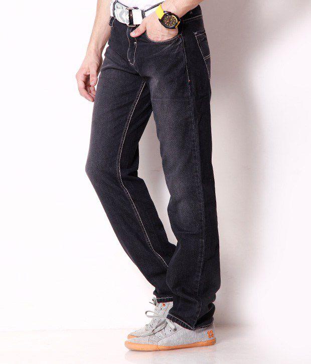 Newport Elegant Black Jeans