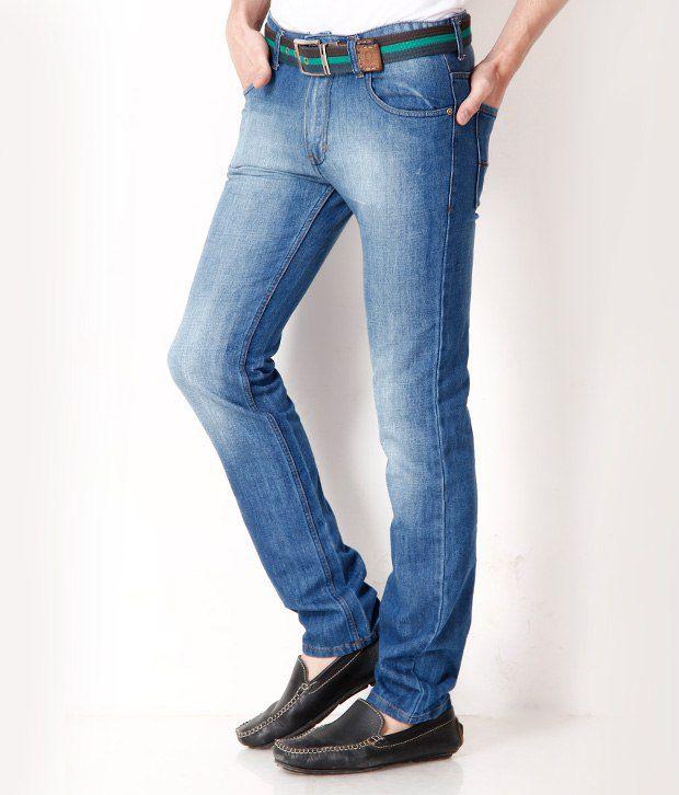 Newport Smart Blue Men's Jeans