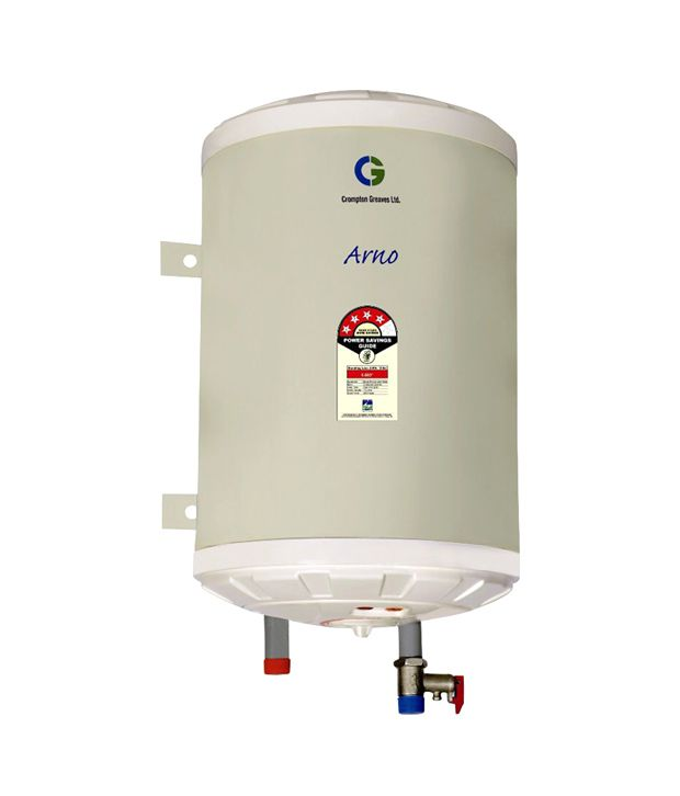 Crompton Greaves Arno SWH615HZ 15 Litres Horizontal Storage Water Geyser