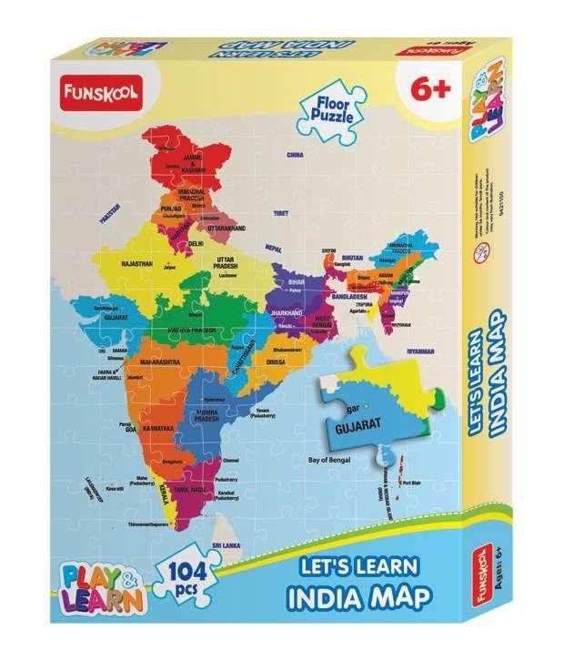 Funskool india map puzzles buy funskool india map puzzles online funskool india map puzzles gumiabroncs Choice Image