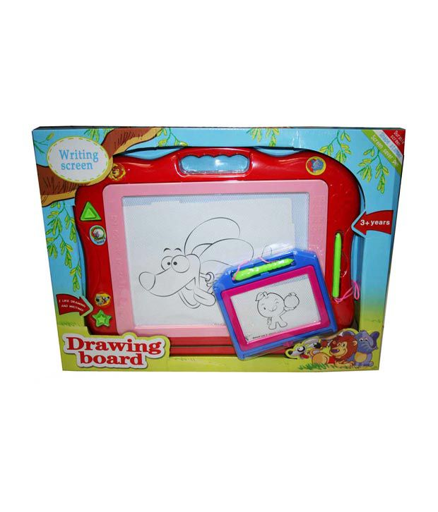 Adraxx Write & Wipe Magnetic Writing Board