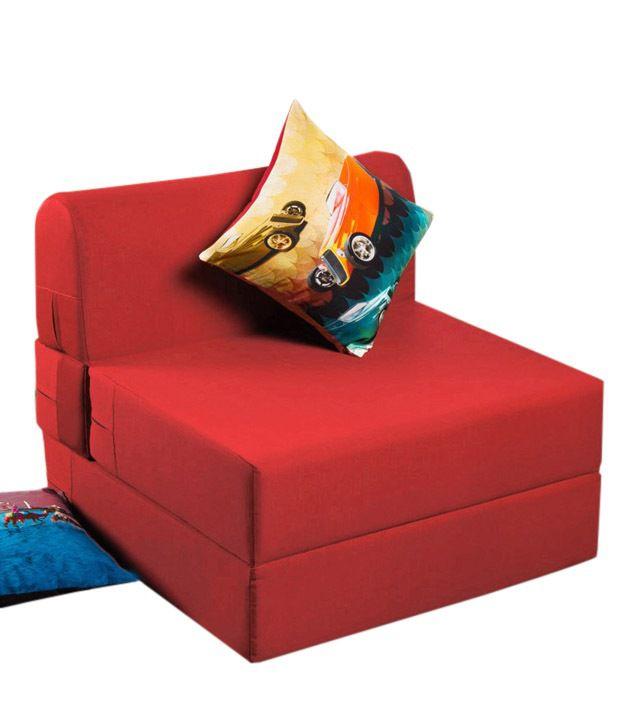 Dolphin Zeal Sofa Cum Bed Maroon - Buy Dolphin Zeal Sofa Cum Bed