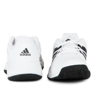 Adidas Swerve Str 2 White Tennis Shoes