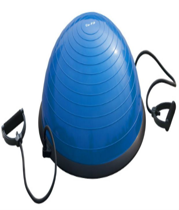 Bosu Ball Best Price: Fit Bosu Ball Blue Rubber Exercise Balls: Buy Online