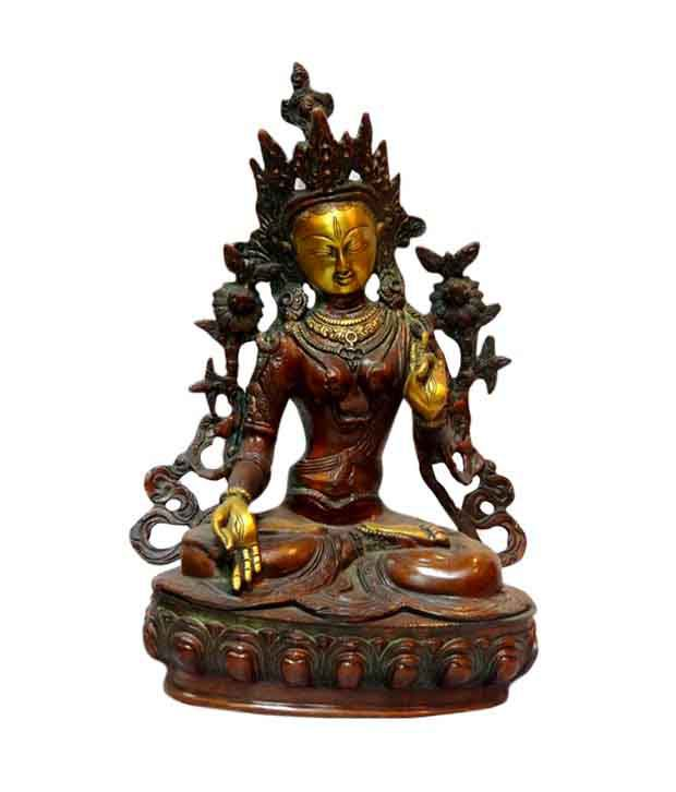 Litstick Brass Tara Devi Statue