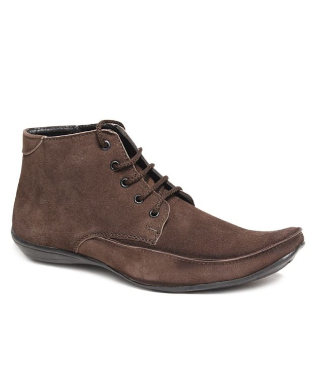 Do Bhai Vogue Brown Ankle Length Boots