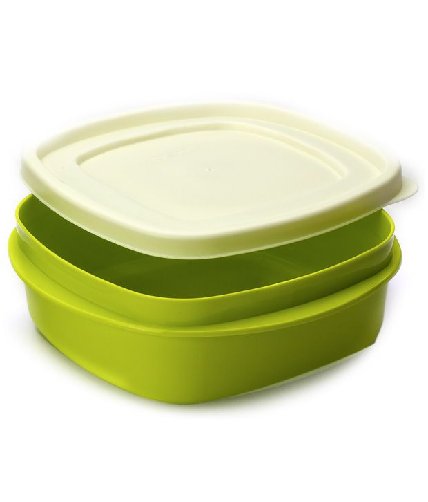 Cutting Edge Microwaveable Snap   Tight Plus Green Lunch Box