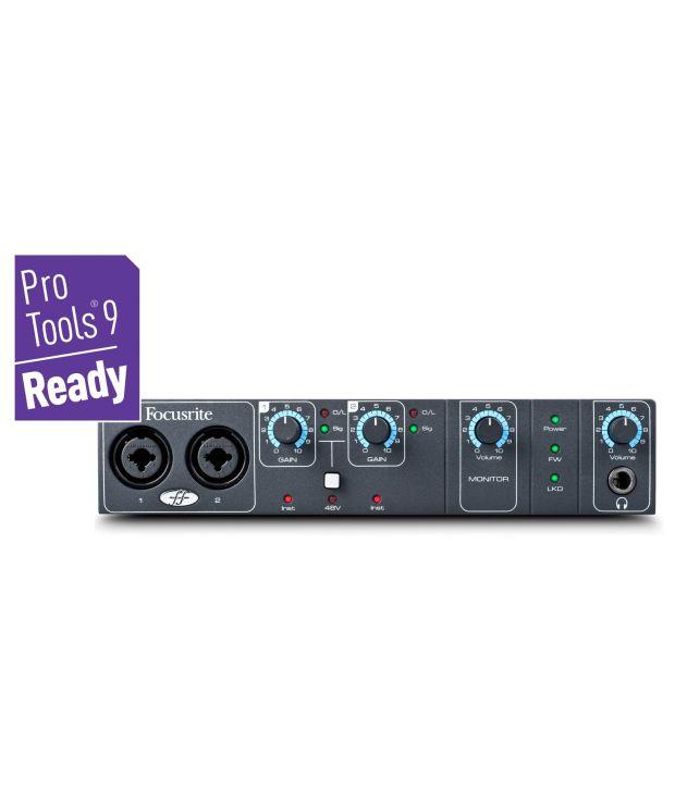 Focusrite Saffire Pro 14 - 8-in/6-out Firewire Audio Interface
