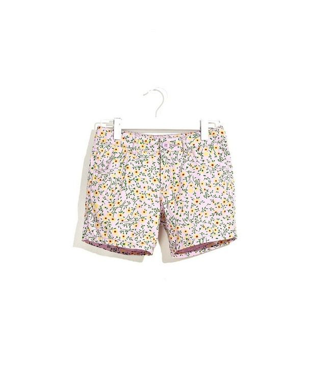 UCB Kids Peppy Floral Print Casual Shorts For Kids