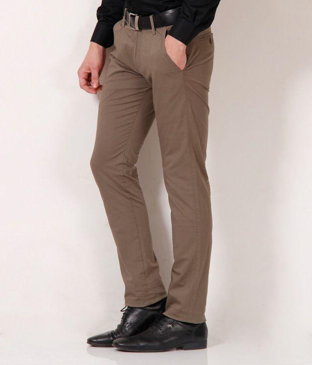 Fever Smart Brown Trouser