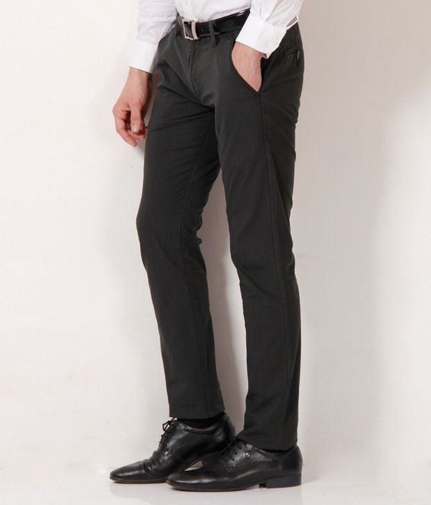 Fever Olive Green Trouser