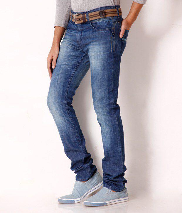 Jogur Classic Medium Blue Faded   Jeans