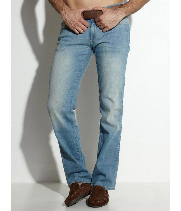 Wrangler Blue Faded Indigo Jeans