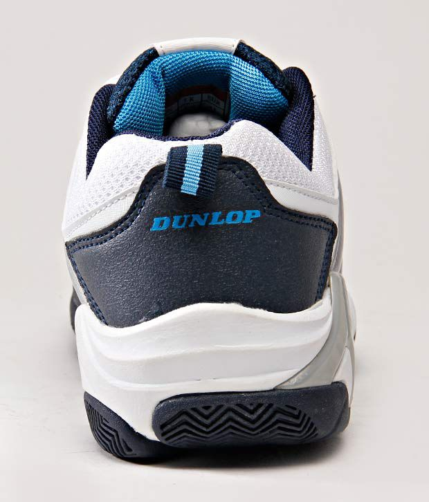 108a0c0ccb Dunlop Swift White   Blue Tennis Shoes - Buy Dunlop Swift White ...