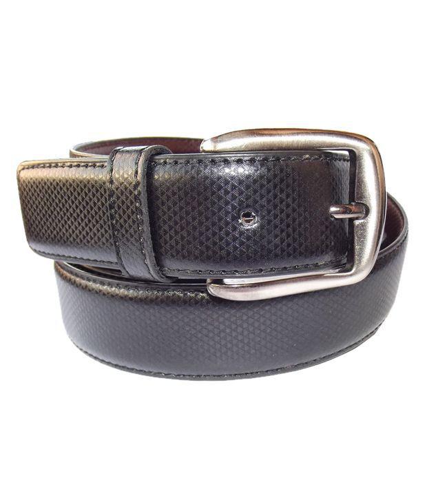 Diamond Textured Black Belt