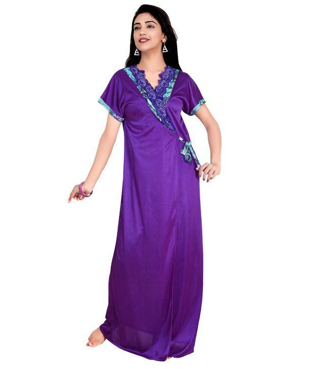 Teleno Purple Net Nighty