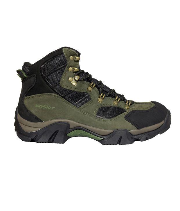 Wildcraft Adventure Green Hiking Shoes