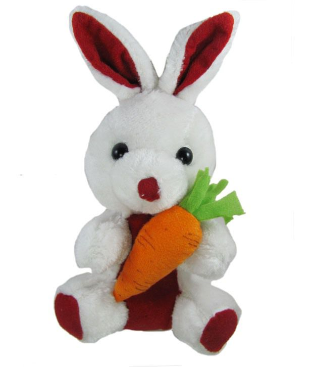 Tickles Rabbit With Carrot   18 cm